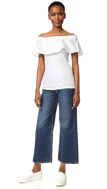 No. 21 Off Shoulder T-Shirt