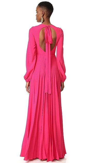 No. 21 Sleeved Long Dress