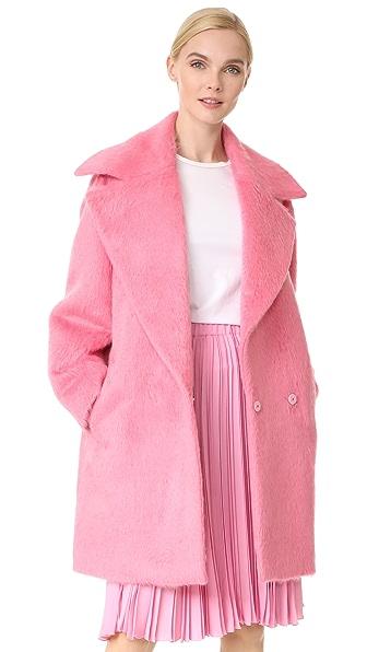 No. 21 Coat In Peonia
