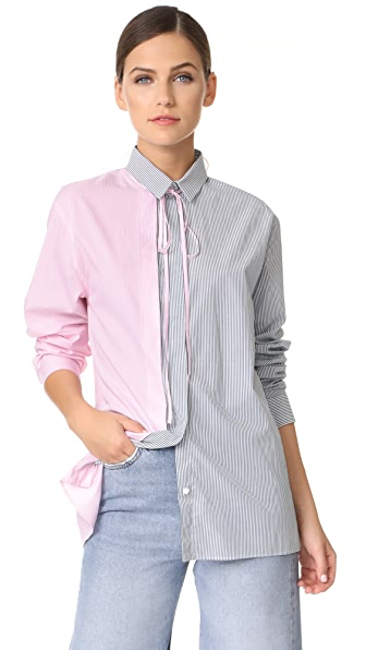 No. 21 Button Down Shirt - Striped