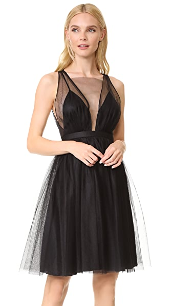 No. 21 Sleeveless Tutu Dress - Black