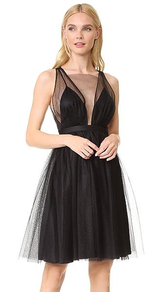 No. 21 Sleeveless Tutu Dress In Black
