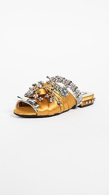 No. 21 Satin Sandals