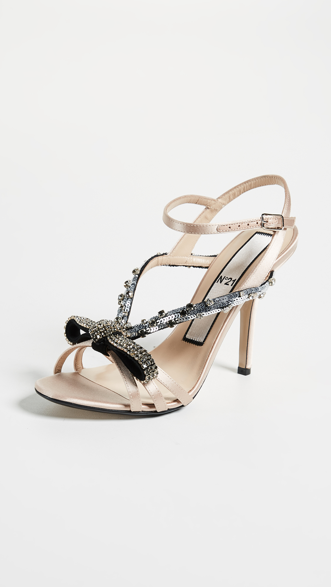 a0480ce67a0 No. 21 Bow Embroidery Sandals   SHOPBOP