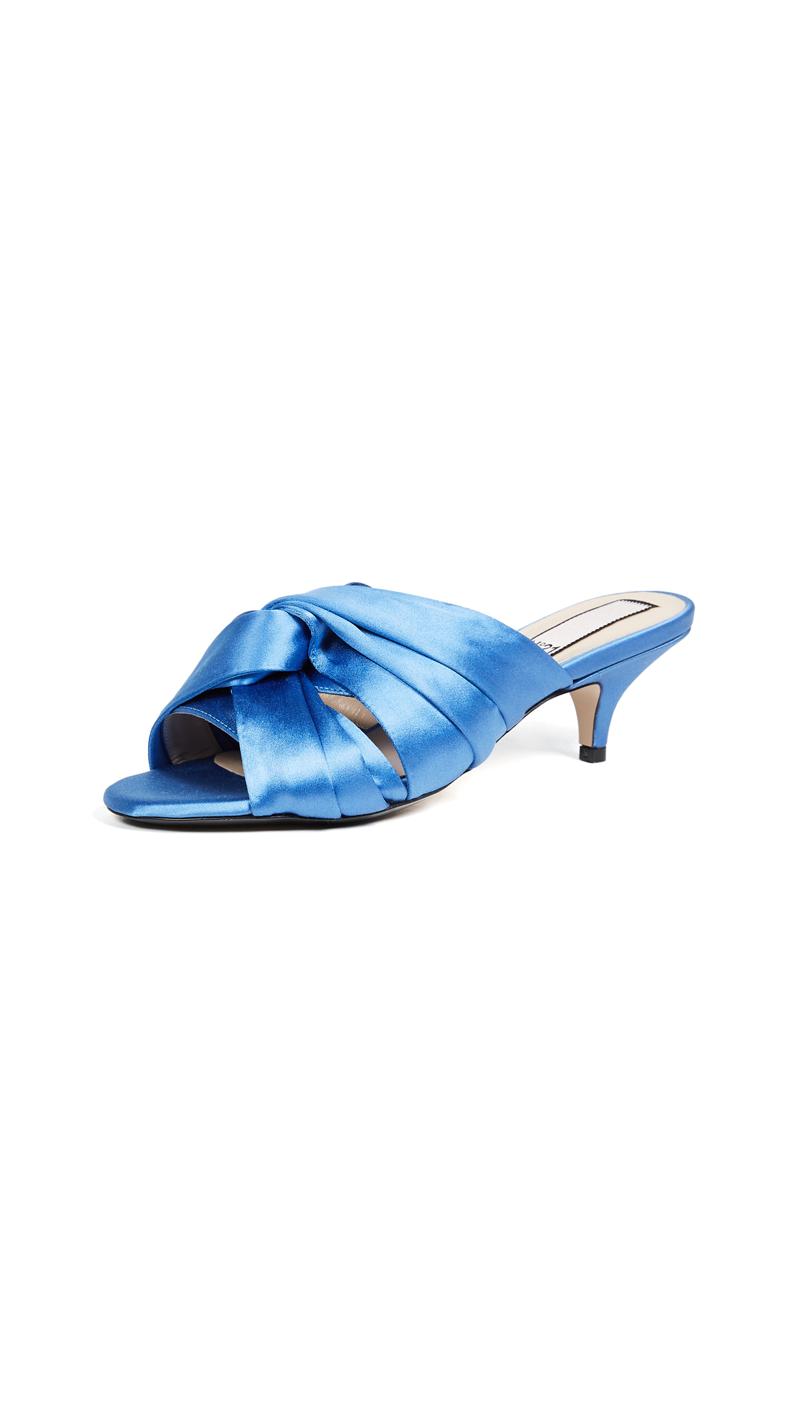 No. 21 Bow Sandal Pumps - Light Blue
