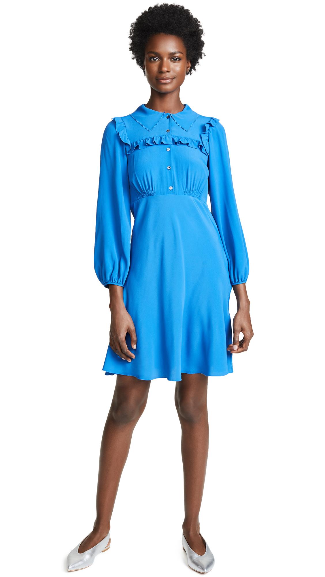 No. 21 Collared Mini Dress