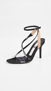 No. 21 Ankle Straps Sandals