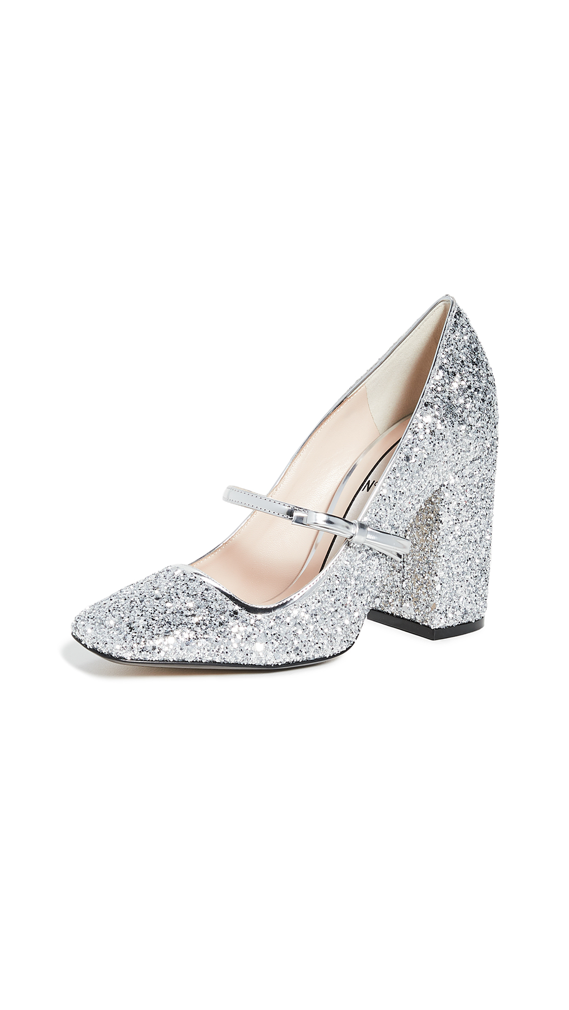 Buy No. 21 online - photo of No. 21 Glitter Mary Jane Pumps