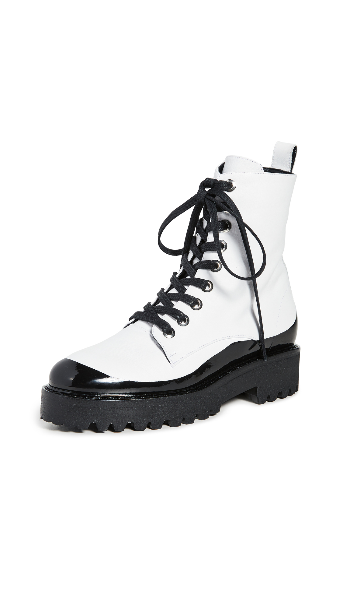 Buy No. 21 online - photo of No. 21 Lace Up Boots