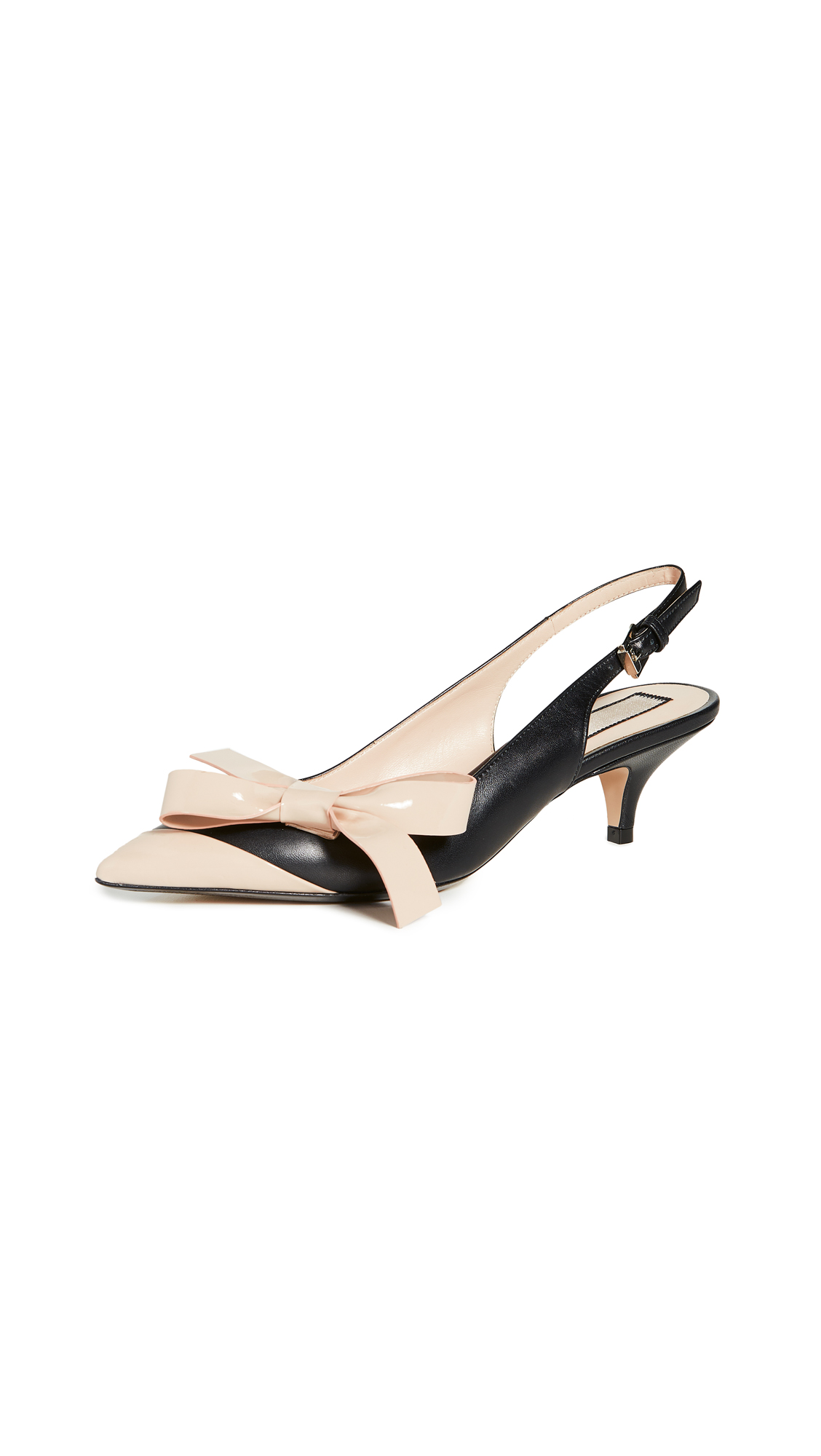 Buy No. 21 online - photo of No. 21 Bow Slingback Pumps