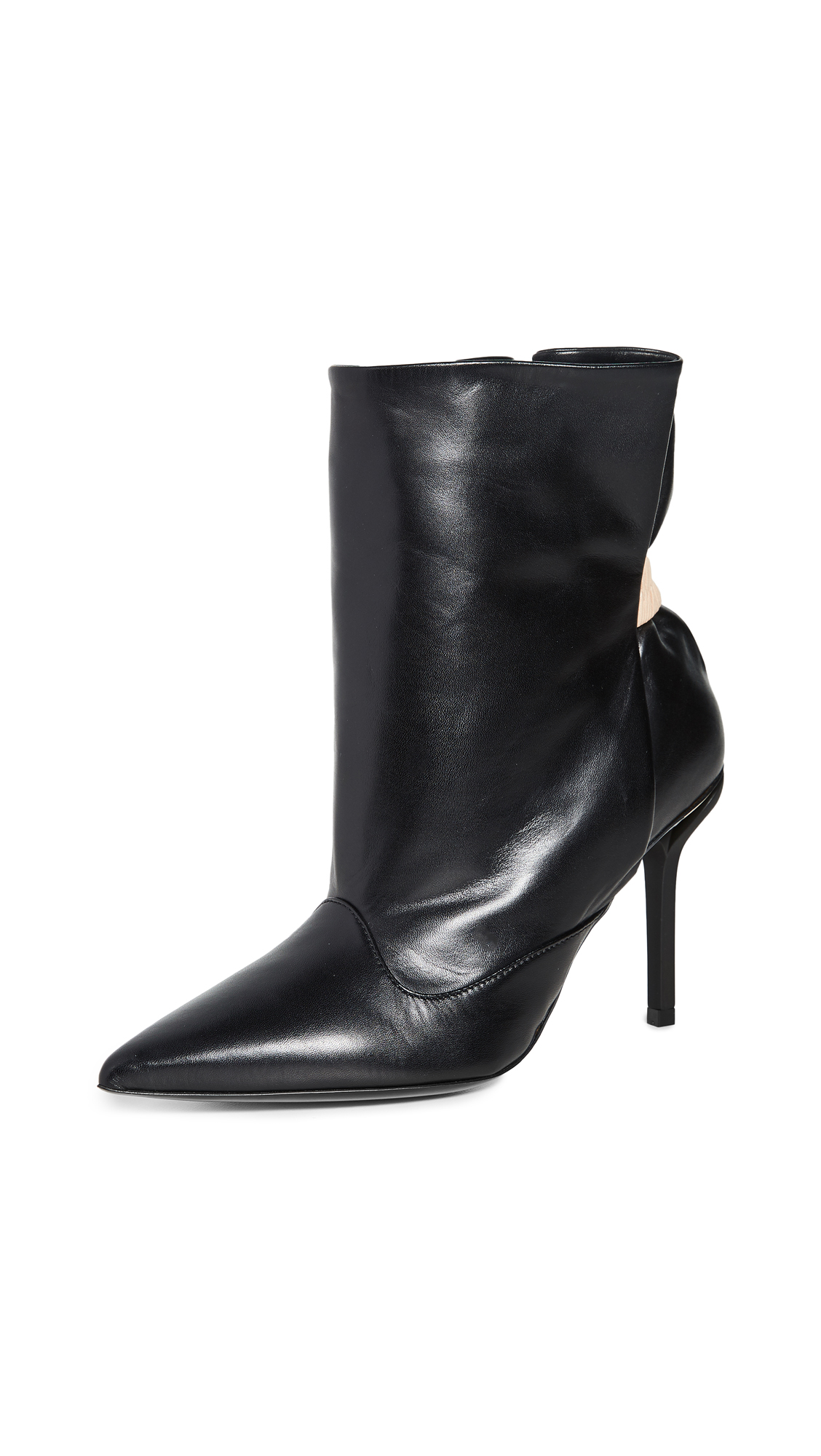 Buy No. 21 online - photo of No. 21 Pointed Toe Short Boots