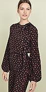 No. 21 印花长袖女式衬衫