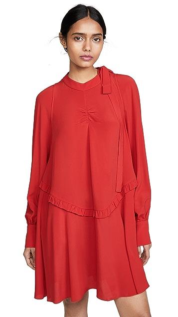 No. 21 Long Sleeve Mini Dress