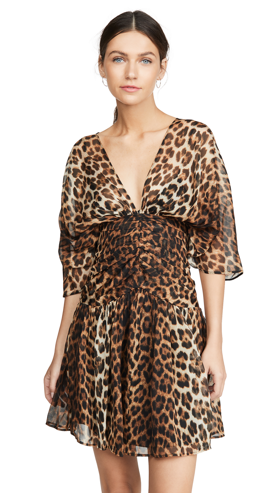 Buy No. 21 Leopard V Neck Dress online beautiful No. 21 Clothing, Dresses