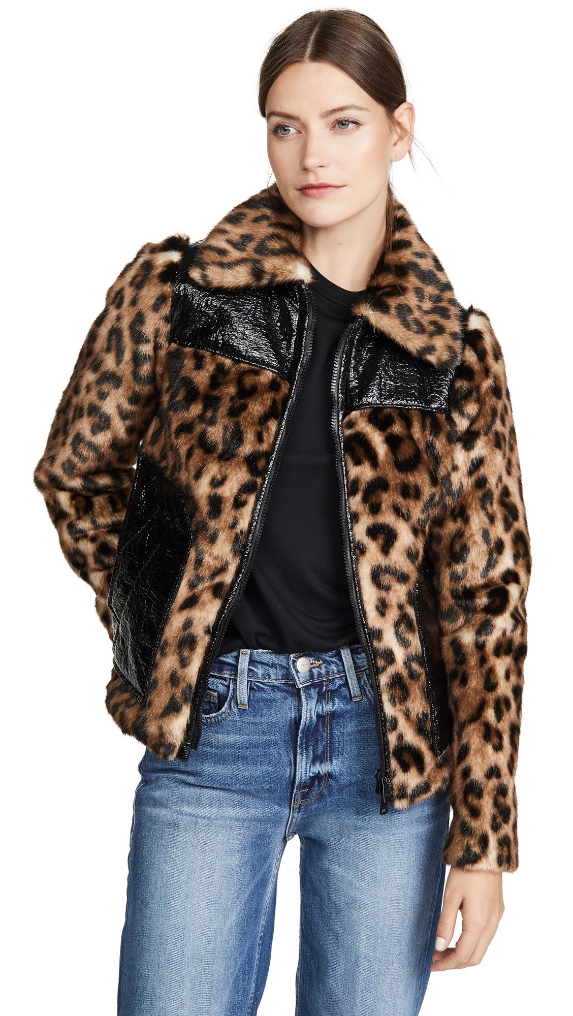 Buy No. 21 online - photo of No. 21 Leopard Jacket