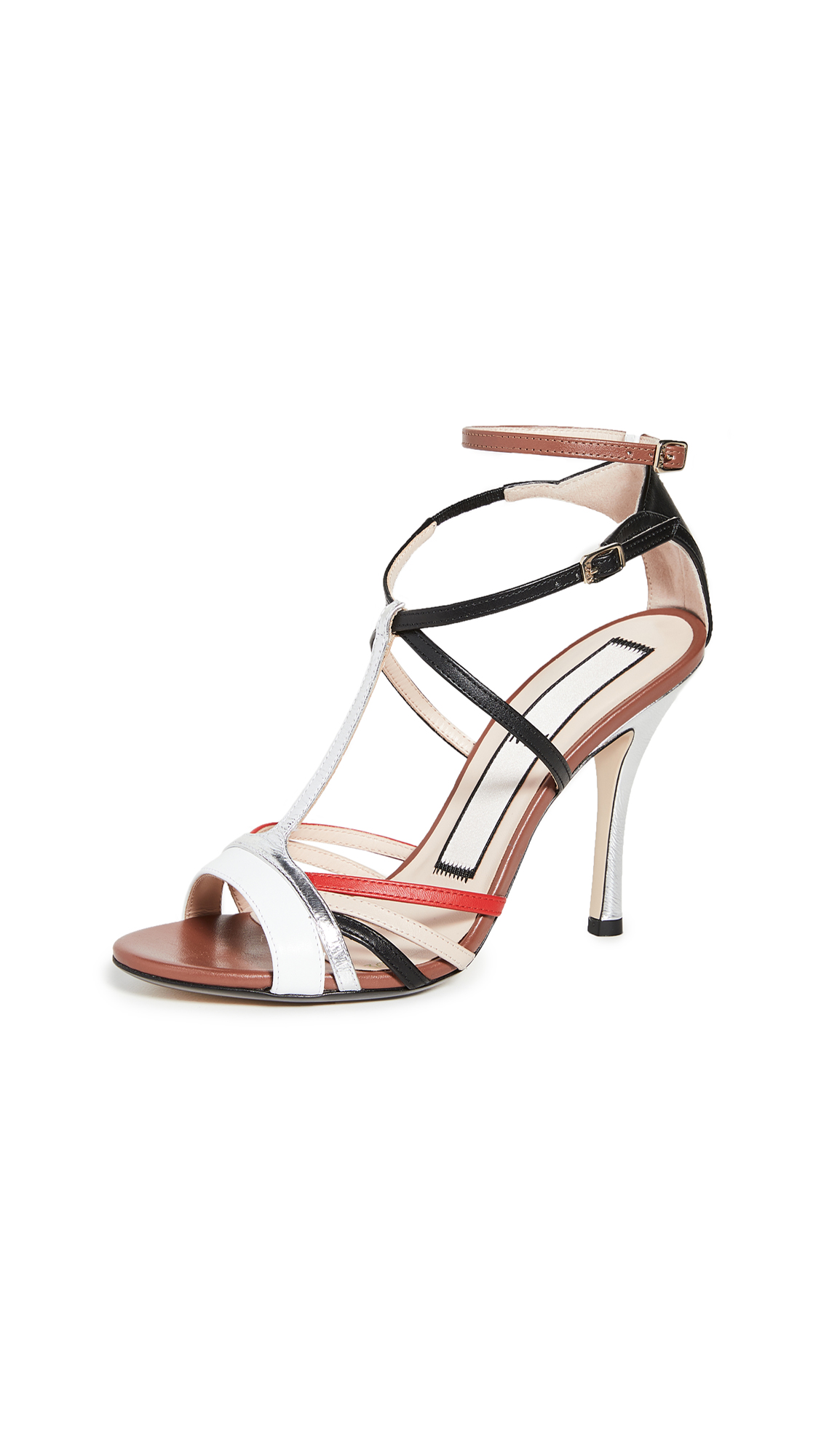 No. 21 Ankle Strap Sandals – 50% Off Sale