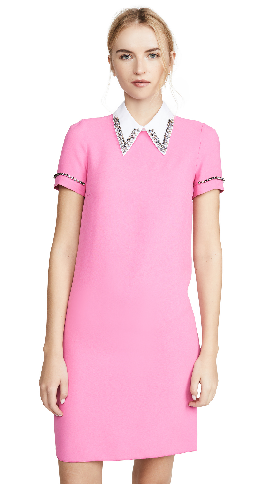No. 21 Collared Mini Dress – 40% Off Sale