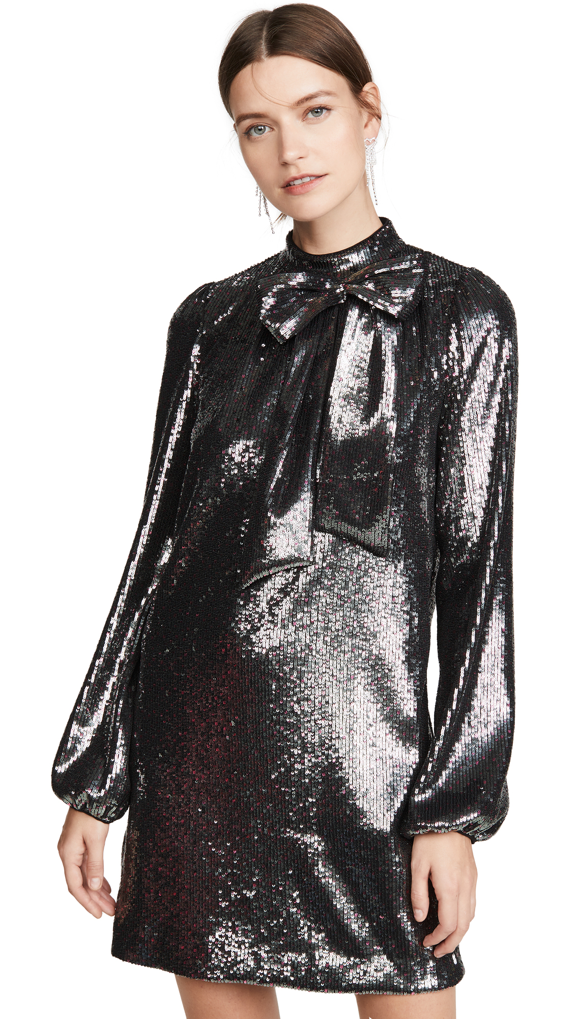 No. 21 Long Sleeve Metallic Dress – 60% Off Sale