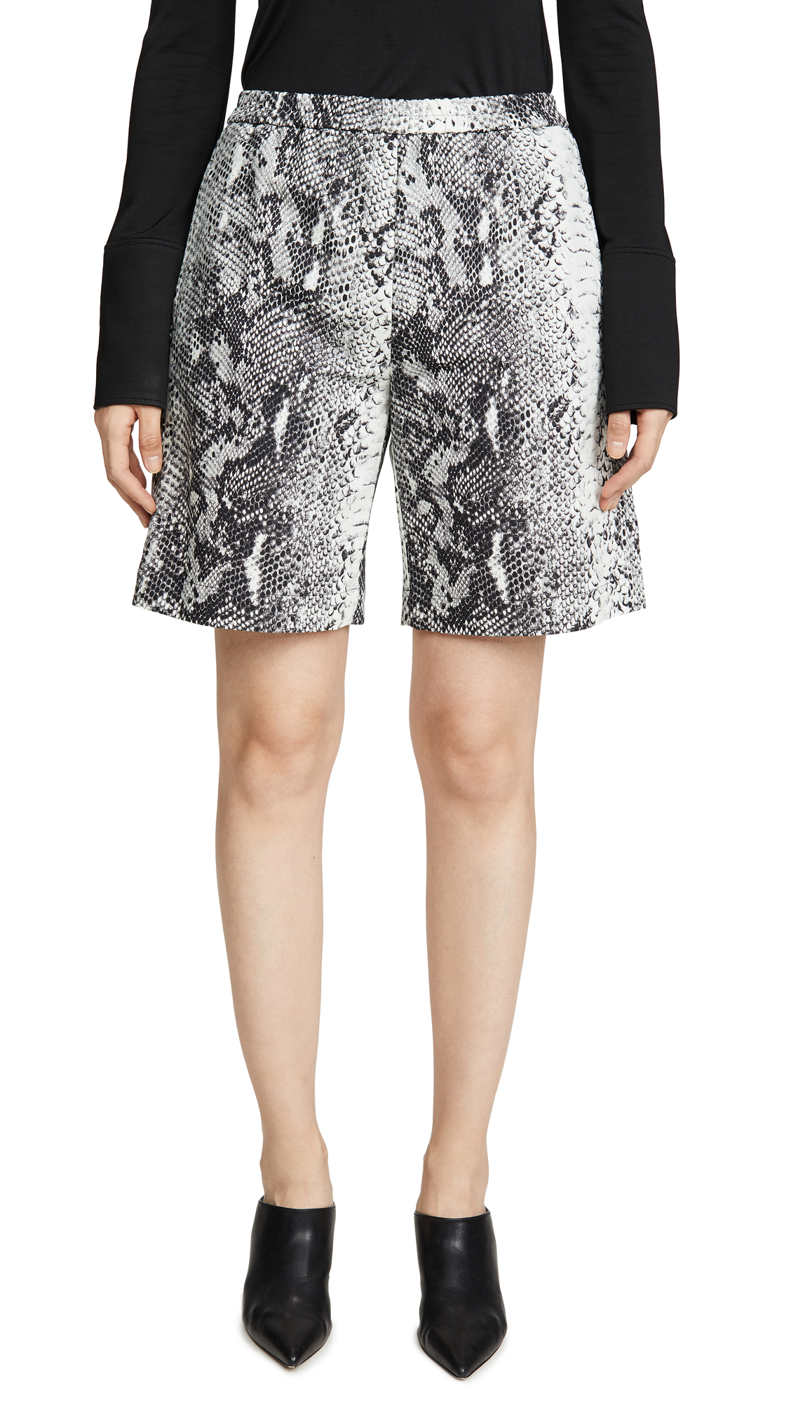 Buy No. 21 online - photo of No. 21 Snake Print Shorts