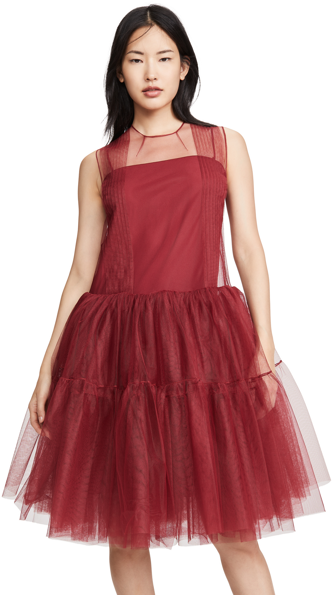 No. 21 Sleeveless Tulle Mini Dress – 40% Off Sale