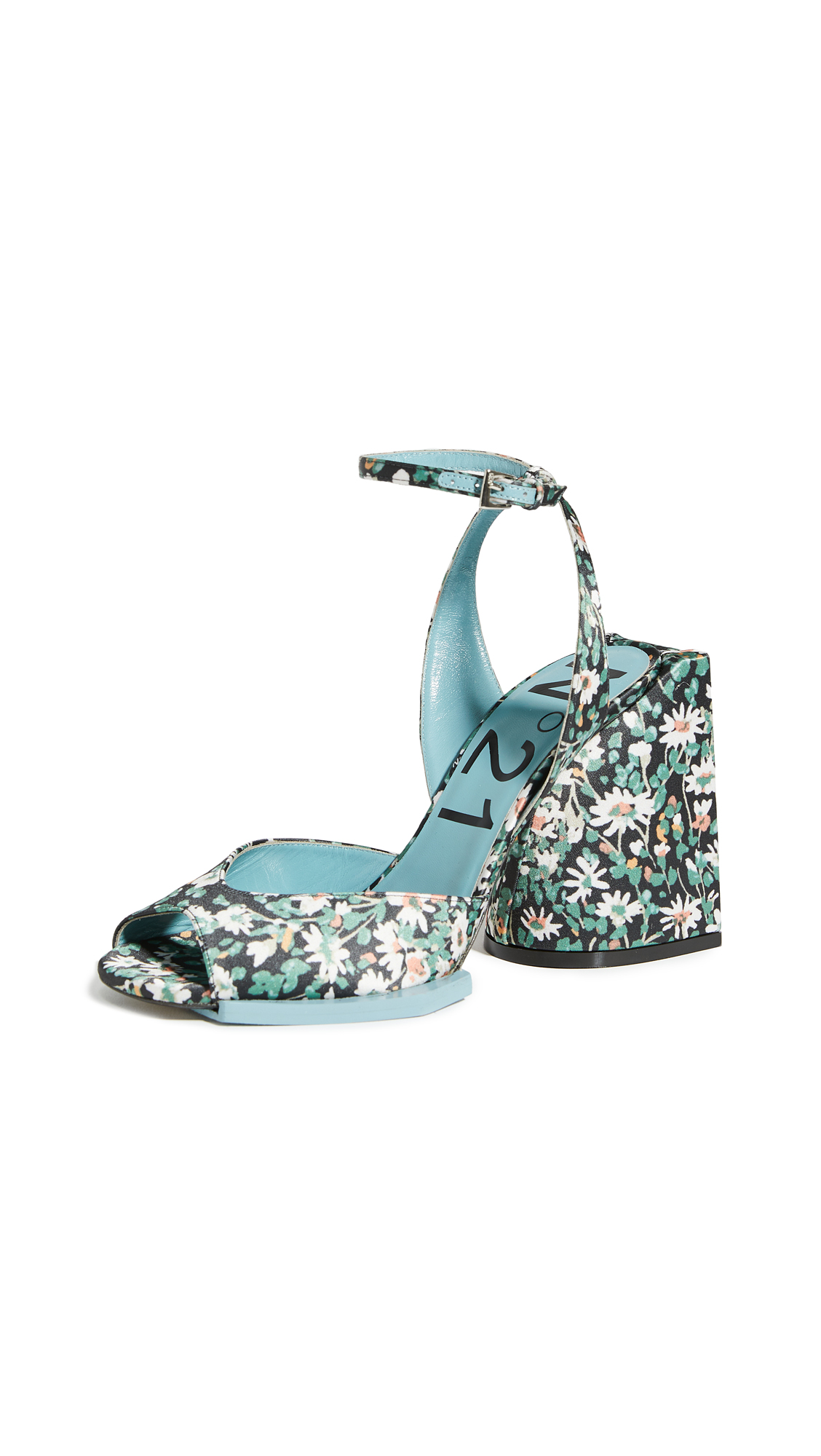 No. 21 Floral Sandals – 40% Off Sale