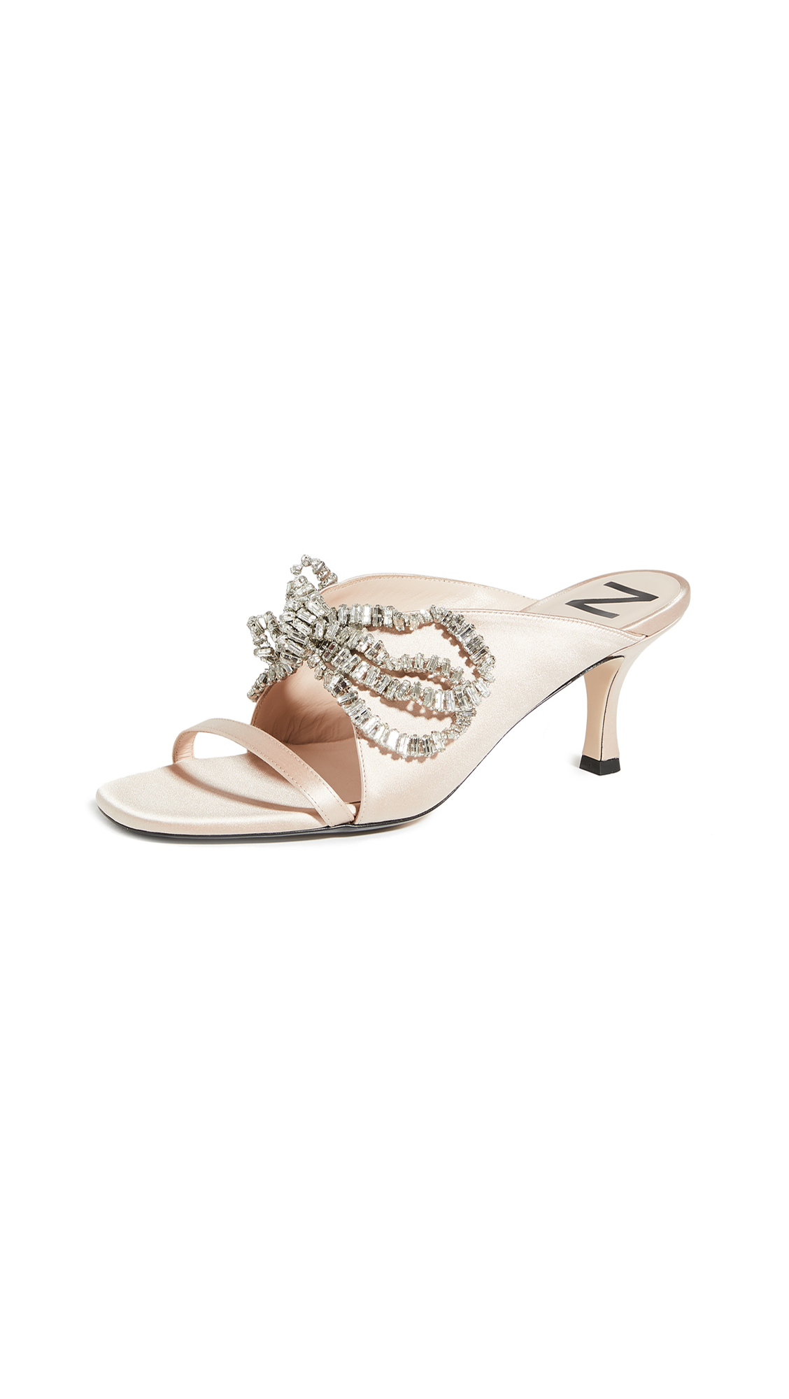 No. 21 Crystal Embriodered Mules – 40% Off Sale