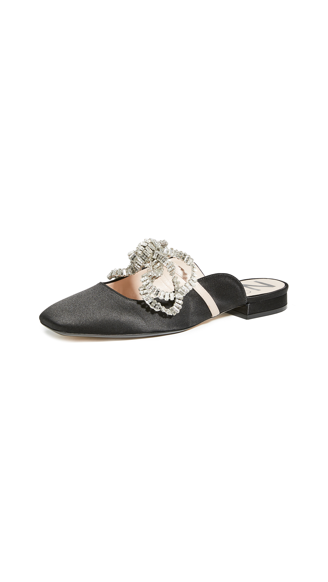 No. 21 Crystal Embroidered Flats – 40% Off Sale