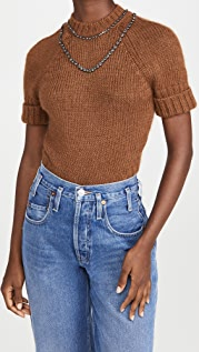 No. 21 Round Neck Knitted Sweater