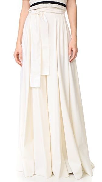 Novis Pleated Wrap Skirt