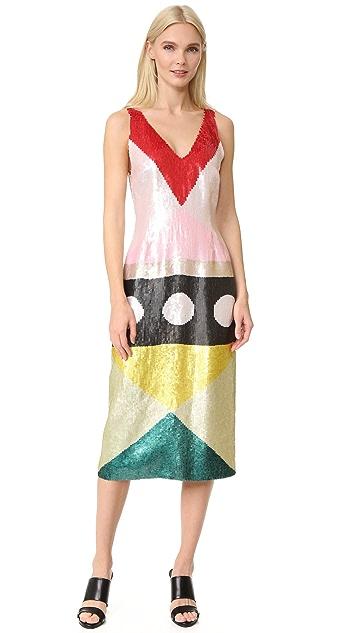 Novis Sequined Cocktail Dress