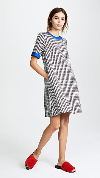 Novis Bristol Dress - Black/Ivory/Royal