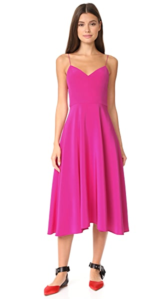 Novis The Egremont Dress - Berry
