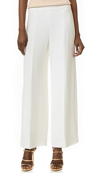 Narciso Rodriguez Cropped Wide Leg Pants