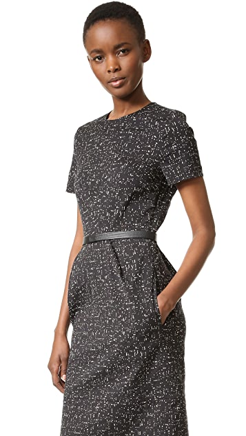 Narciso Rodriguez Cotton Jacquard Dress