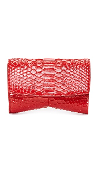 Narciso Rodriguez Rachel Small Evening Clutch - Scarlet