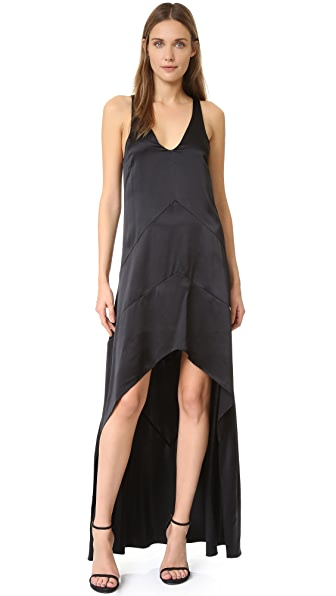 Narciso Rodriguez Sleeveless Gown - Black