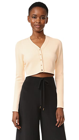 Narciso Rodriguez Long Sleeve Cardigan