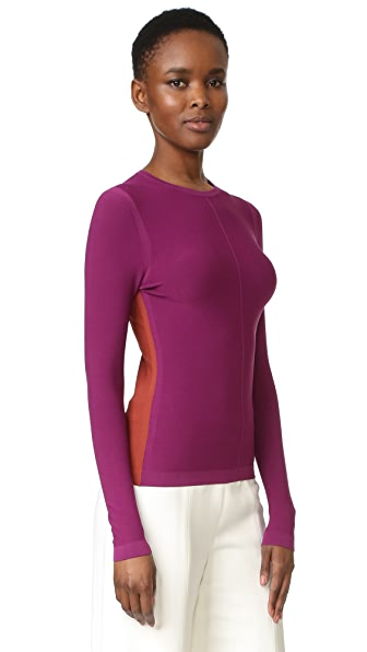 Narciso Rodriguez Long Sleeve Top