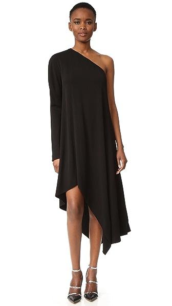 Narciso Rodriguez Платье с открытым плечом