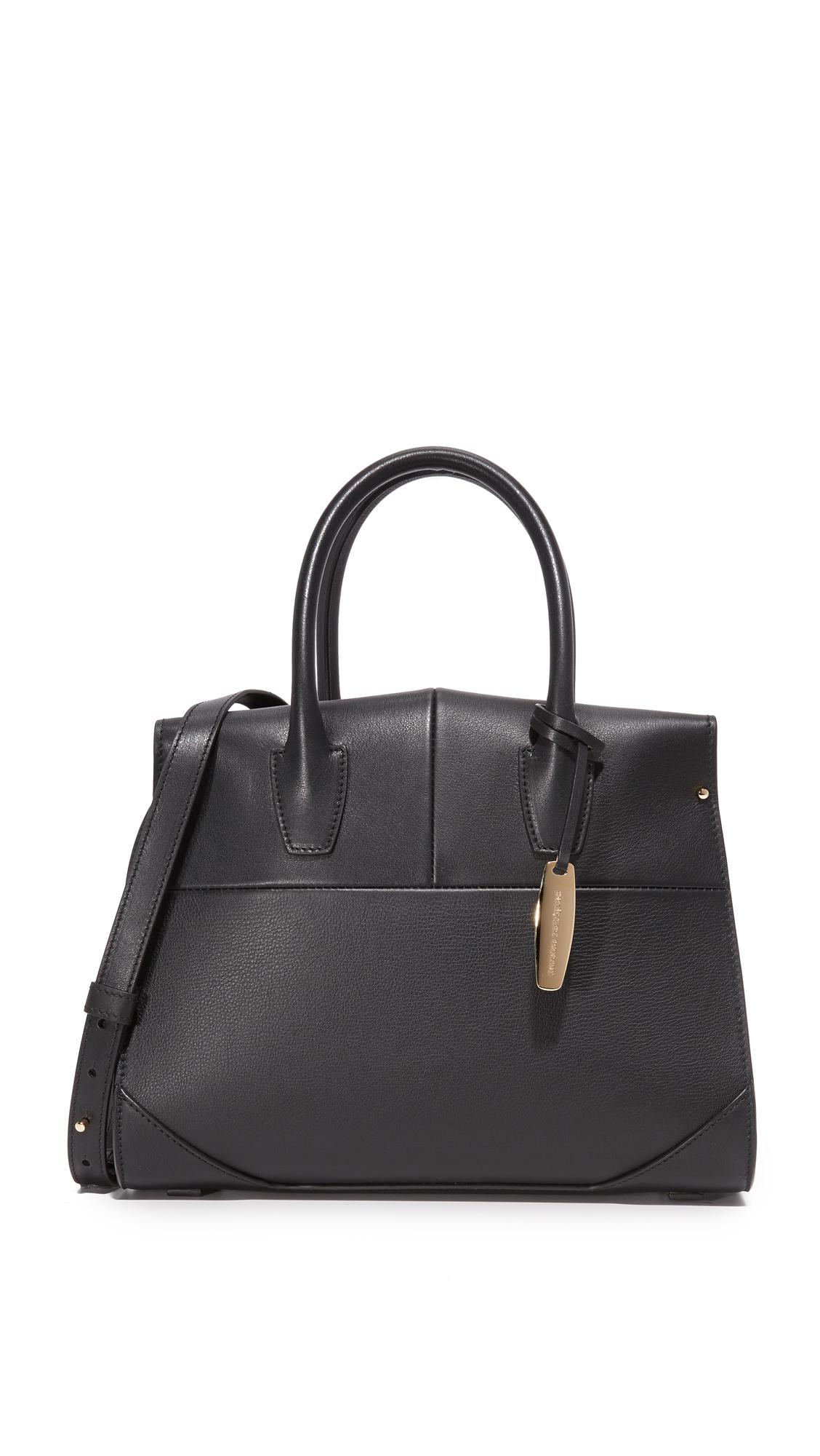 narciso rodriguez female narciso rodriguez top handle bag black