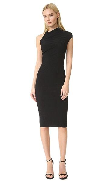 Narciso Rodriguez Платье с короткими рукавами