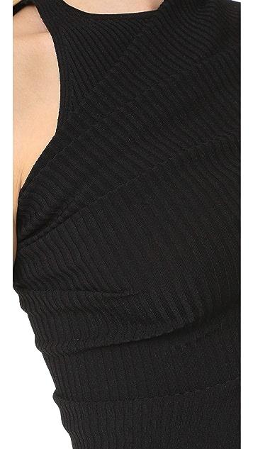 Narciso Rodriguez Short Sleeve Dress
