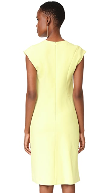Narciso Rodriguez V Neck Dress