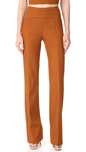 Narciso Rodriguez High Waisted Trousers