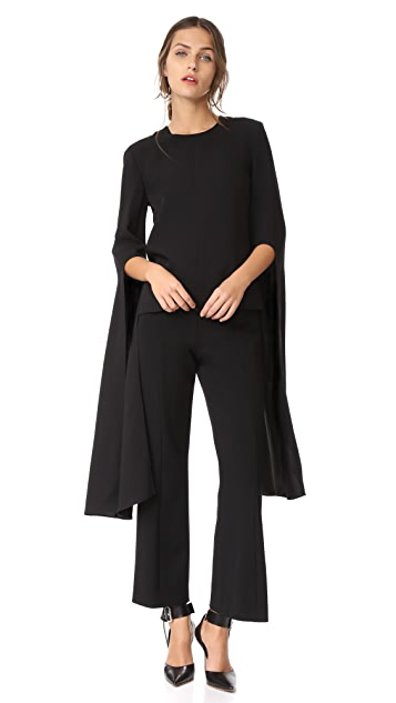 Narciso Rodriguez Bell Sleeve Top