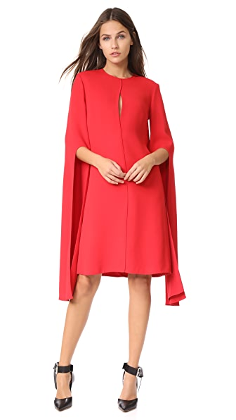 Narciso Rodriguez Bell Sleeve Dress