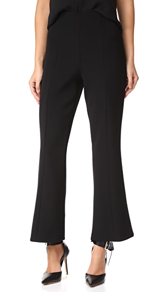 Narciso Rodriguez Barathea Trousers - Black