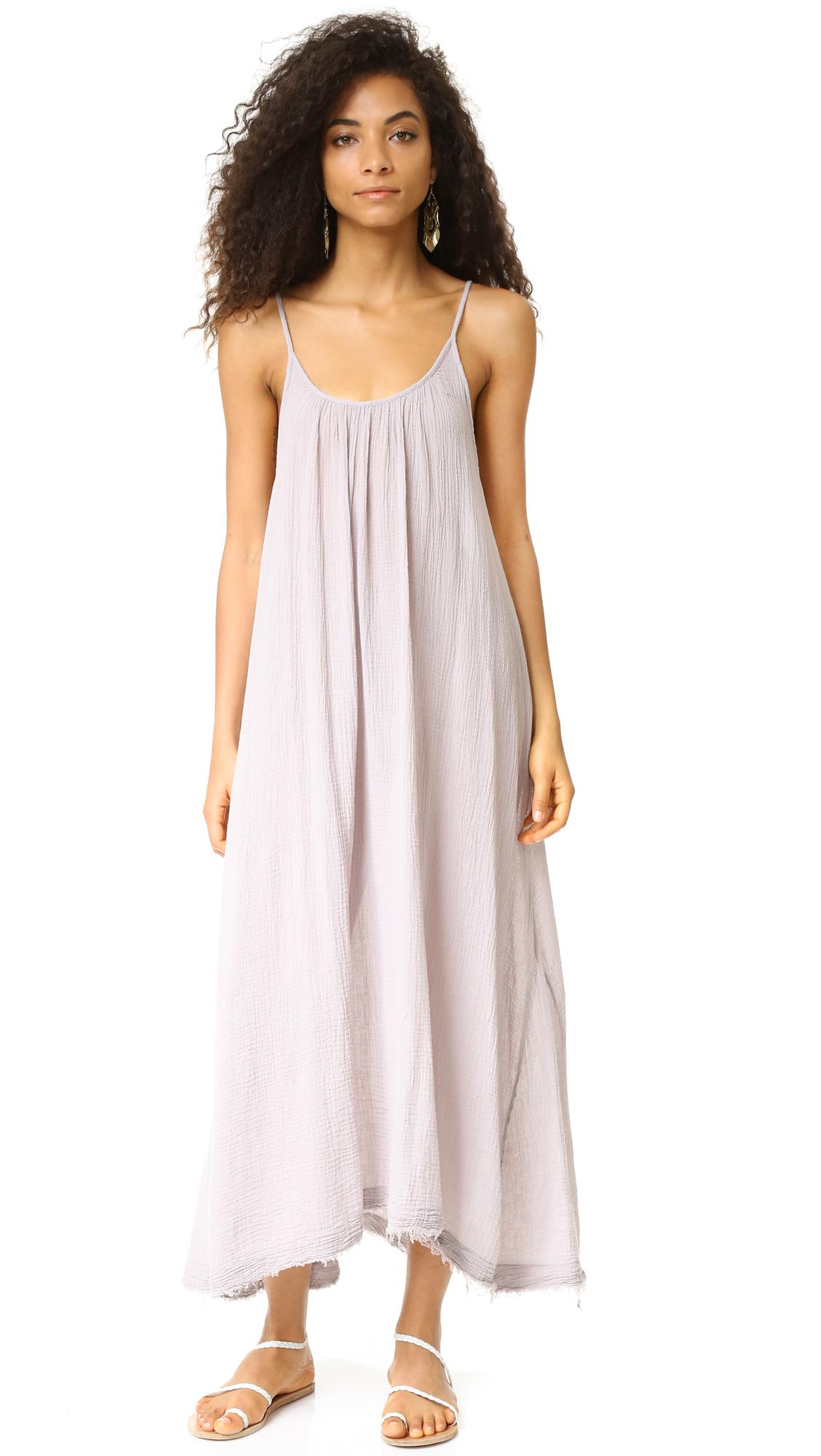 56310edac 9seed Tulum Raw Edge Maxi Dress | SHOPBOP