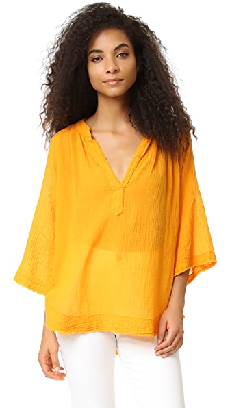 9Seed Marrakesh Top - Marigold