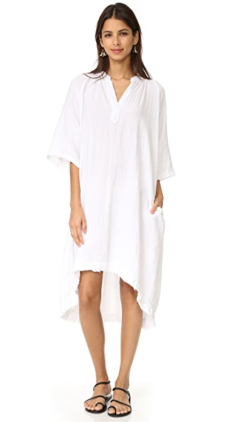 9seed Tangier Caftan In White